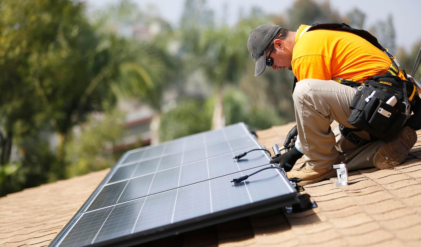 Panneaux solaire - Installateur